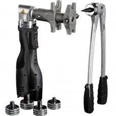Novopress Набор аксиального инструмента: AAP102, ручной экспандер, тиски и расширители 16-32, чемодан (для системы STOUT PE-Xa с латунными фитингами)