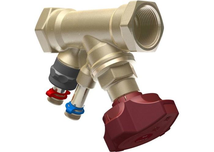 IMI Клапан балансировочный ручной STAD без дренажа, внутренняя резьба, DN 20, Kvs = 5,39 м3/ч, Tmax = 120°C, PN25, материал корпуса - AMETAL в Белгороде