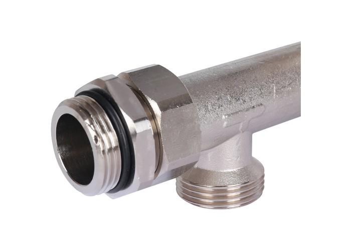 STOUT Насосно-смесительный узел с термостатическим клапаном 20-43°C жидкокристаллическим термометром, с насосом UPSO 25-65, 130 mm в Белгороде
