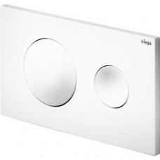 Viega 8610.1 8610.1 Кнопка смыва Prevista Visign for Style 20 для смывных бачков, пластик, альпийский белый