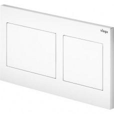 Viega 8611.1 8611.1 Кнопка смыва Prevista Visign for Style 21 для смывных бачков, пластик, альпийский белый