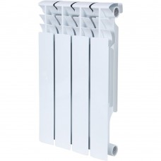 ROMMER Plus BM 500 4 секций радиатор биметаллический (RAL9016)