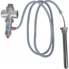 """STOUT SVS-0007 Термоклапан для твердотопливных котлов 1/2"""", капиляр, 1300 мм."""