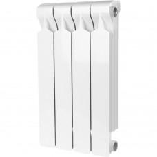STOUT VEGA 500 4 секций радиатор алюминиевый боковое подключение (белый RAL 9016)