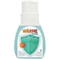 Warme Лосьон антисептический для обработки рук и поверхностей Антибактериальный лосьон WARME Clean 250 мл.