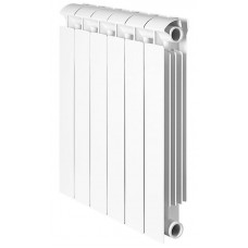 Global STYLE EXTRA 500 Global STYLE EXTRA 500 1 секция радиатор биметаллический боковое подключение (белый RAL 9010)
