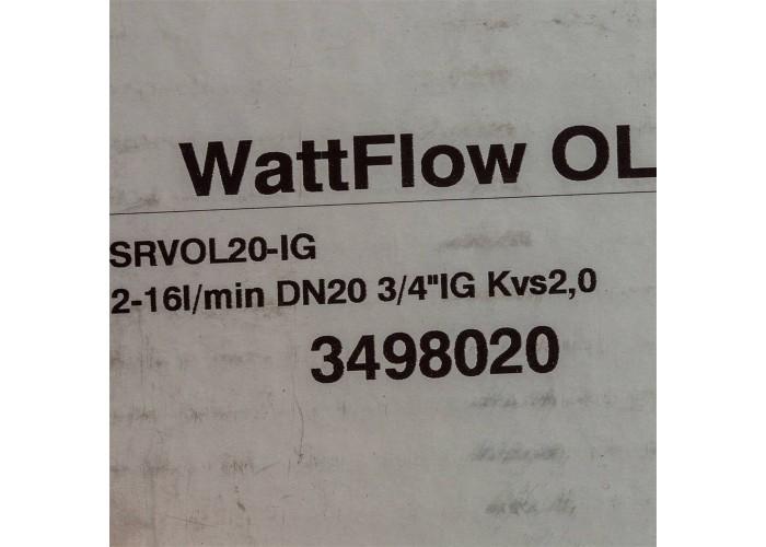Watts Вентиль ВВ 3/4' баланс ДУ 20 в Белгороде