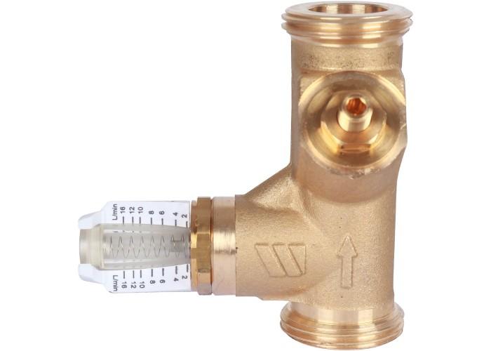 """Watts Вентиль баланс.НP SRV-AG15 с расходомером(1"""",2-16л/м) в Белгороде"""