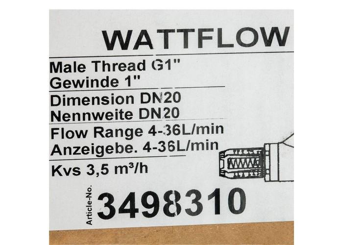 """Watts Вентиль баланс.НP SRV-AG20 с расходомером(1"""",4-36л/м) в Белгороде"""
