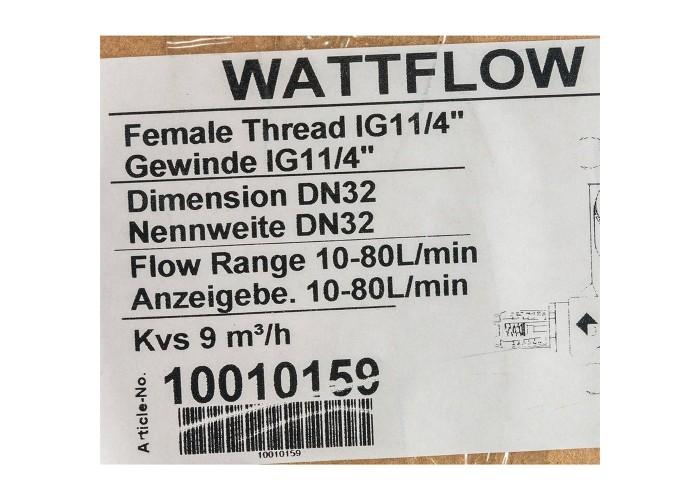 """Watts Вентиль баланс.BP SRV-IG32 с расходомером и функцией """"Memostop"""""""
