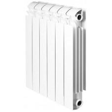 Global VOX- R 500 Global VOX- R 500 1 секция радиатор алюминиевый боковое подключение (белый RAL 9010)