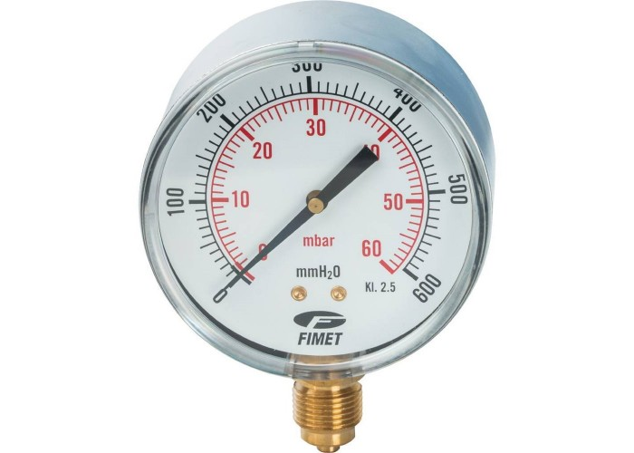 """Watts Манометр газов.FR260(MG) 80/6(3/8"""",60мбар)"""