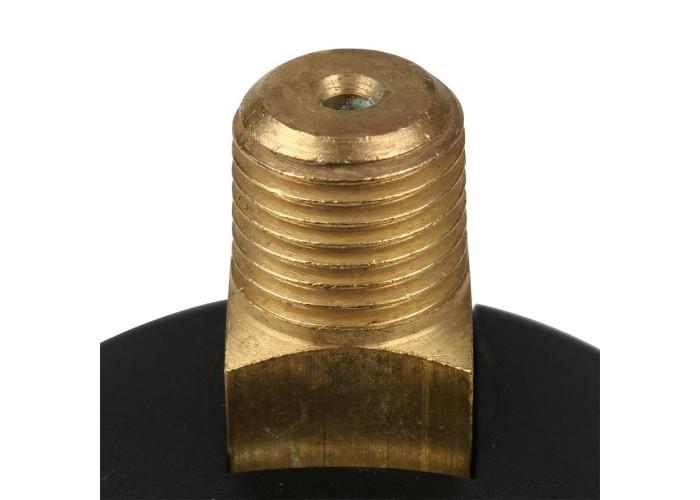 Itap 482 1/4 Манометр боковое подключение 10 бар