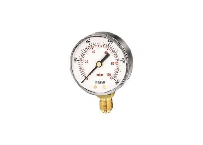 """Watts Манометр газов.FR260(MG) 80/25(3/8"""",250мбар)"""
