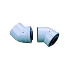 Bosch Угловое колено DN60/100 45гр 2 шт.