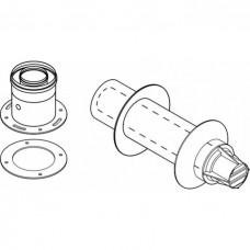 Bosch Горизонтальный дымоход DN60/100 с подключением к котлу