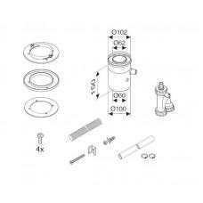 Bosch Вертикальный элемент для отвода конденсата DN60/100