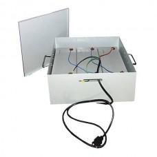 Teplocom УМБ-3/120-Металлический бокс для безопасной эксплуатации трех АКБ до 120а/ч 530х400х265 мм
