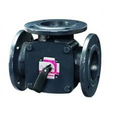 Esbe Клапан поворот. 3-ход. фланцевый 3F65 (DN65,Kvs90,PN6,КО-ОХ)