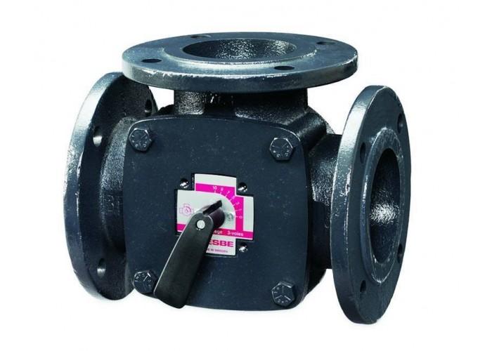 Esbe Клапан поворот. 3-ход. фланцевый 3F65 (DN65,Kvs90,PN6,КО-ОХ) в Белгороде