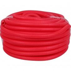 РУВИНИЛ Труба гофр.25мм ПНД (красная) для МПТ (Длина: 50 м)